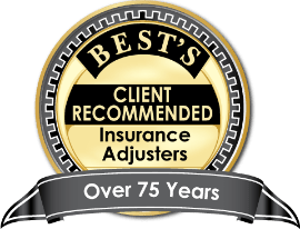Logo for AM Best's Client Recommended Insurance Adjusters