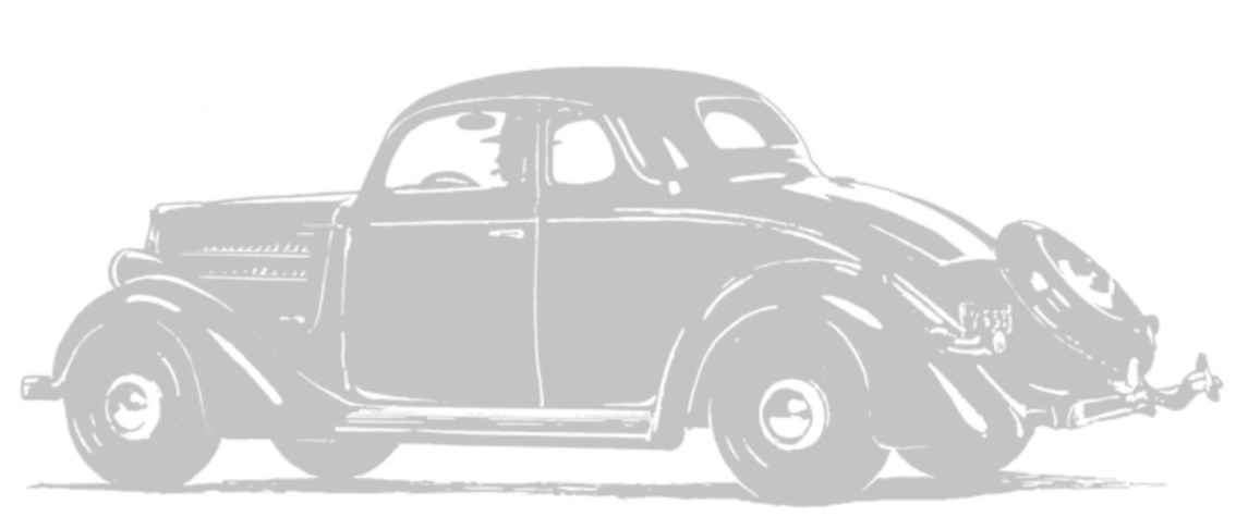 Illustration of an old time Ford car